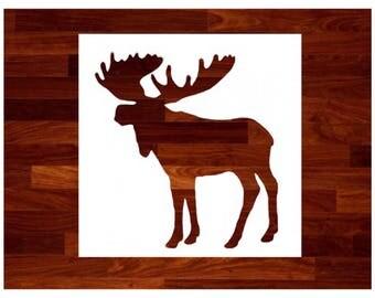 Custom Stencils - Moose Stencil