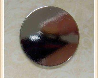 12 pieces round acrylic mirror 25mm #9955