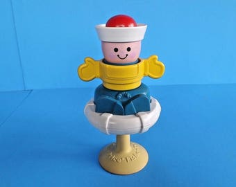 Vintage 1983 Fisher Price toy
