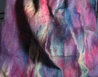 Lake Country Nuno Felt Scarf