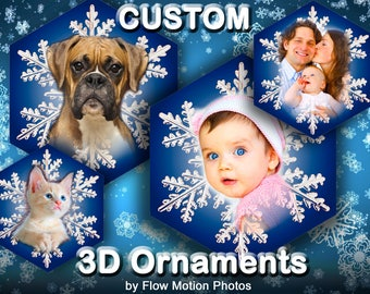 3D Photo Ornament