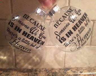 Heaven Christmas Ornaments