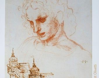 Leonardo da Vinci exhibition poster - studies for the last supper - Rijksmuseum Amsterdam print - renaissance - Mona Lisa