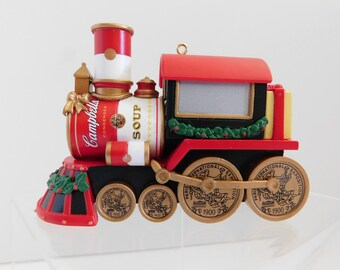 Train ornament | Etsy