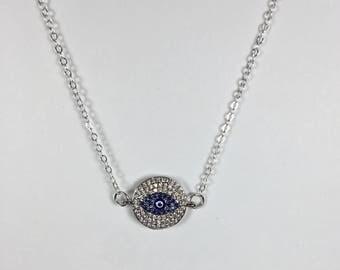 Evil Eye Necklace 40% off - Sterling Silver