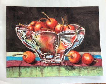Life Is Just A Bowl of Cherries (Giclee print)