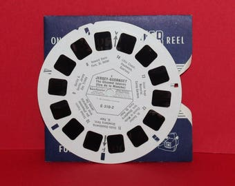 Vintage Sawyers Viewmaster Reel Jersey Guernsey Channel Islands C310-2