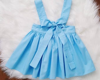 Skirt overalls, Pinafore size 6m to 7y