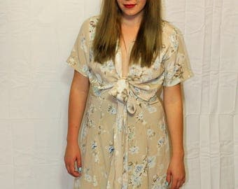 Vintage Blunauta Floral Dress