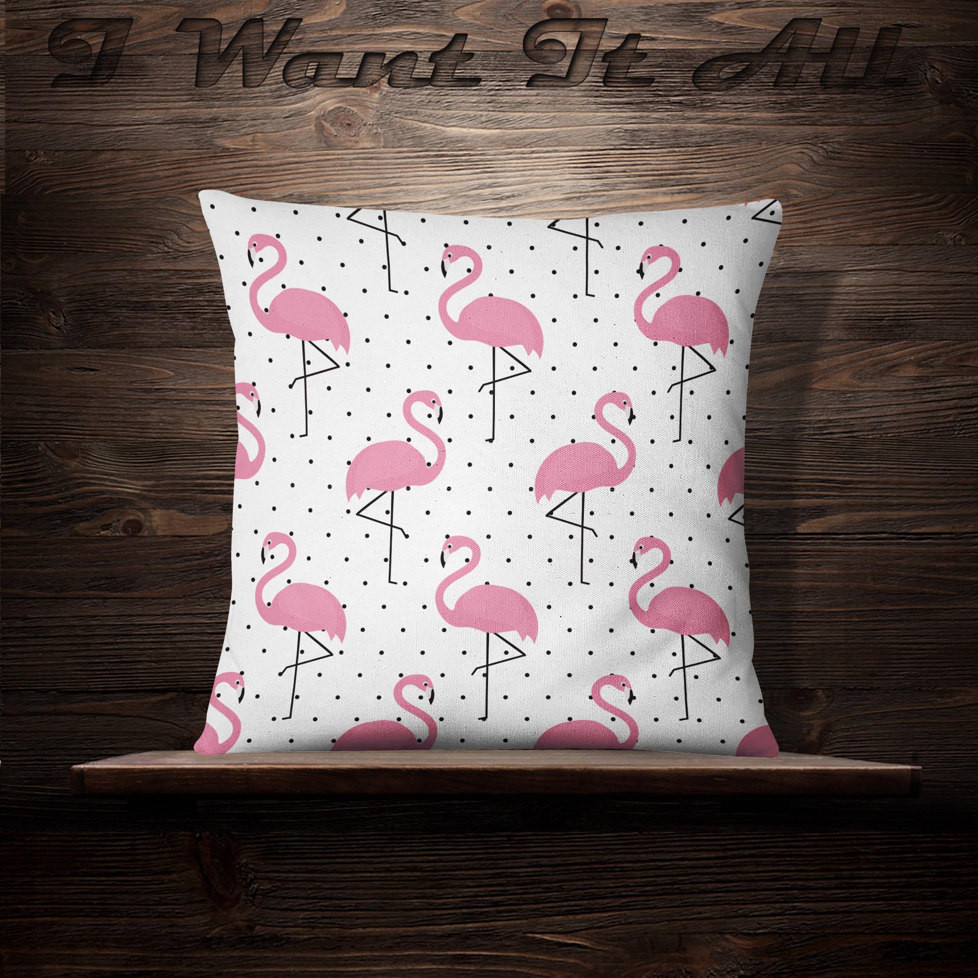 flamingo pillow flamingo pillow case flamingo throw pillow flamingo pillow cover flamingo cushion flamingo dcor flamingo pillow