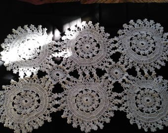 Cotton table decoration/table runner