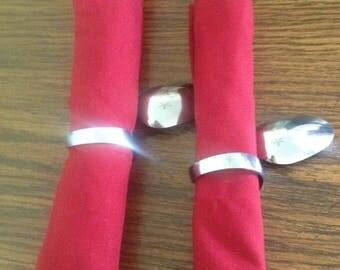 napkin ring-(x12) dinner decor-functional art-