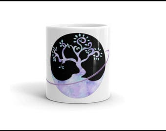 Crystal Tree Orbit Mug