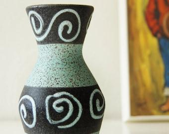 Vintage West Germany vase, Scheurich. Midcentury