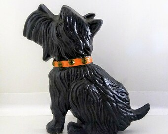 Cast Iron Scottie Dog Doorstop Scottish Terrier