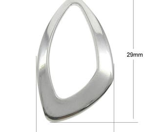 2/4/6 Pieces Stainless Steel Linking Ring