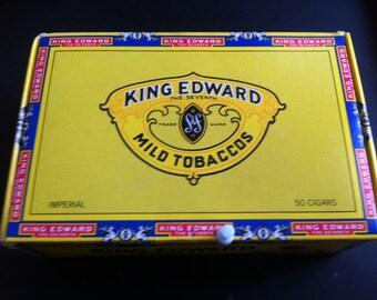 King Edward Imperial Cigar box