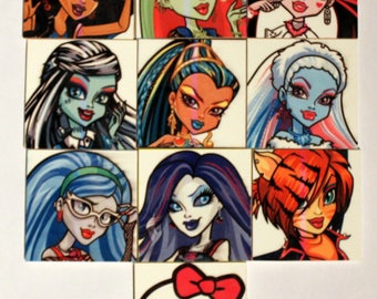 Monster high 20 memory games pieces from 2 years