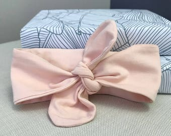 Baby headbands, cute hair accessories, peach colour, baby accessories