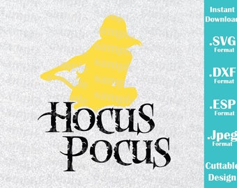 INSTANT DOWNLOAD SVG Disney Inspired Hocus Pocus Sarah Halloween  Vacation Cutting Machines Svg, Esp, Dxf and Jpeg Format Cricut Silhouette