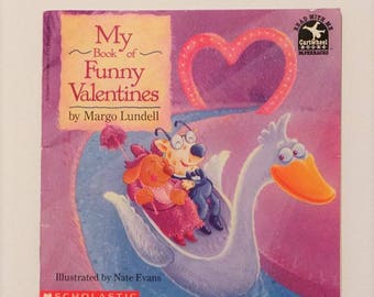 My Book of Funny Valentines Paperback by Margo Lundell 1993