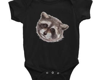 Baby Trash Panda Raccoon Infant Bodysuit