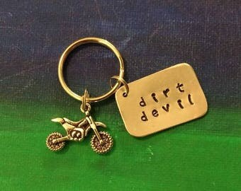Dirt Devil Keychain