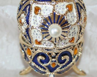 Œuf after K.faberge musical jewelry box