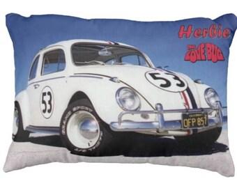Herbie the Lovebug - Cushion - 2 designs available