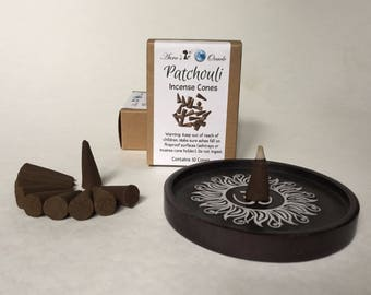 Patchouli Incense Cones Box of 10