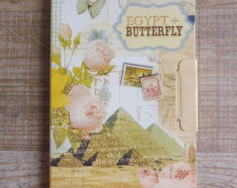 Notebook with vintage style designs available more drawings listed separately