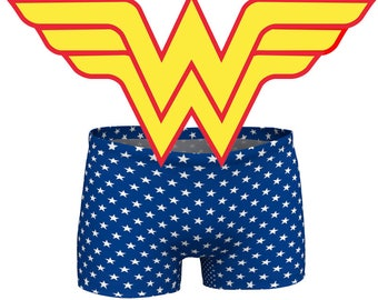 Super Hero shorts, American shorts, star shorts, short shorts, July 4th outfit