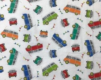 Vans hemstitched baby blanket