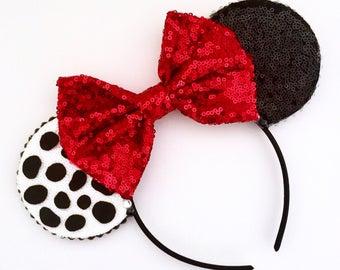 The Puppies - Handmade Mouse Ears Headband