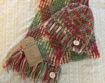 Handmade scarf and hat set (kids (s)