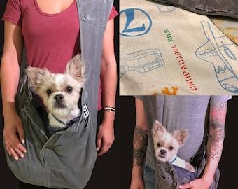 Bullshitz Doggie Bagz: Grey Cords and Planes & Skulls with Boxer Shorts