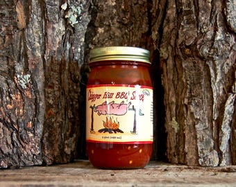 CHIGGER Hill Medium BBQ SAUCE  (Pint)