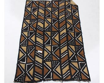 Authentic African Mudcloth Fabric: Handwoven Made in Mali Bògòlanfini Value Treasures