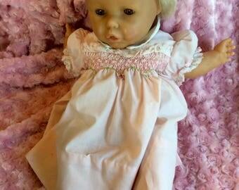 Vintage 1970s sleepy eyed baby
