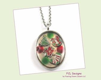 Christmas pendant etsy christmas pendant by fcl designs aloadofball Choice Image