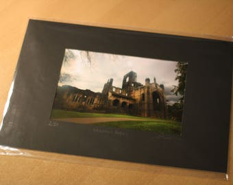Kirkstall Abbey prints **special limited edition**