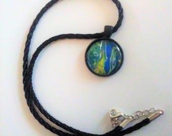 Original Acrylic skin pendant