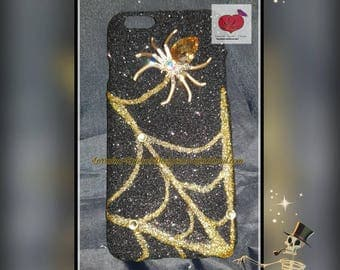 Crystal the spider halloween iphone case