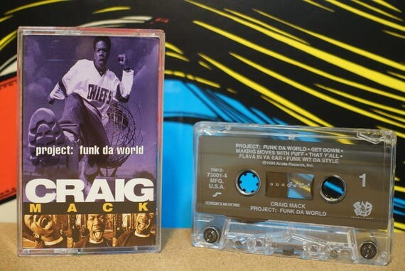 Project: Funk Da World by Craig Mack Vintage Cassette Tape