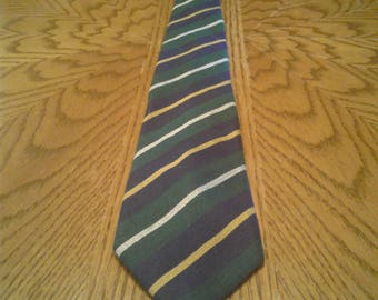 VINTAGE POLO NECKTIE Hand Made In Italy