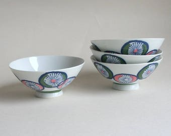 Japanese vintage rice bowl, rice cup