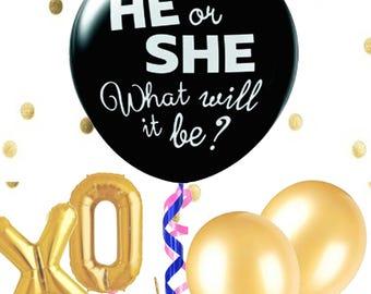Gender reveal/ Gender reveal balloon/ gender reveal ideas/ gender reveal decorations/ Party decorations/ party decor/ Gender reveal party/