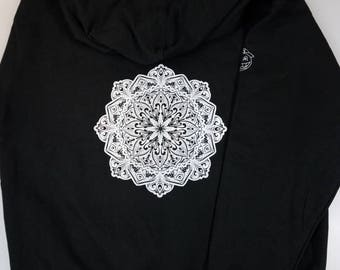 Mandala Zip up Sweatshirt