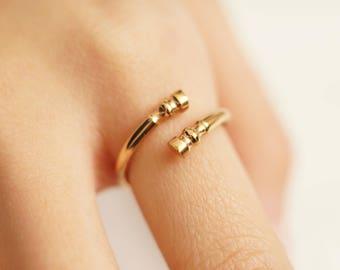 Rose Gold Horse Hoof Ring - Horseshoe Ring - gold horse ring - gift for horse lover - equestrian ring - horse lovers jewelry - horse lovers