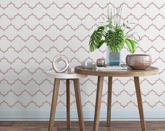 Moroccan Stencil - Reusable Furniture & Wall Stencils of a Moroccan Pattern
